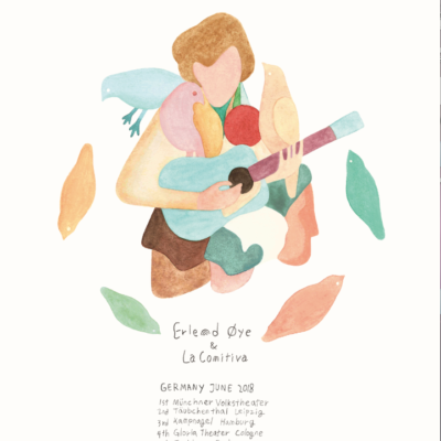 Erlend-Oye-german-tour-poster 2