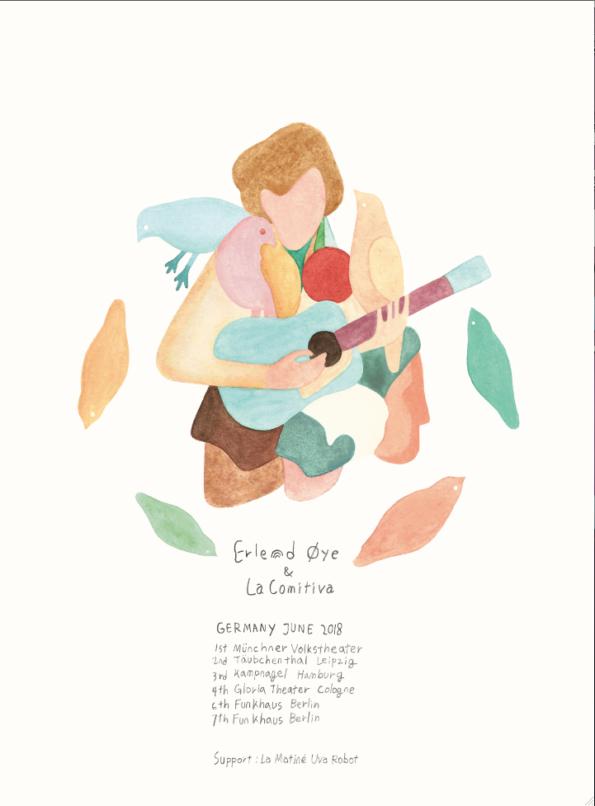 Erlend-Oye-german-tour-poster 2