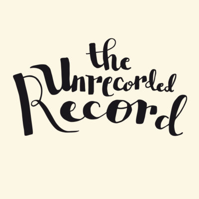Unrecorded record tshirt