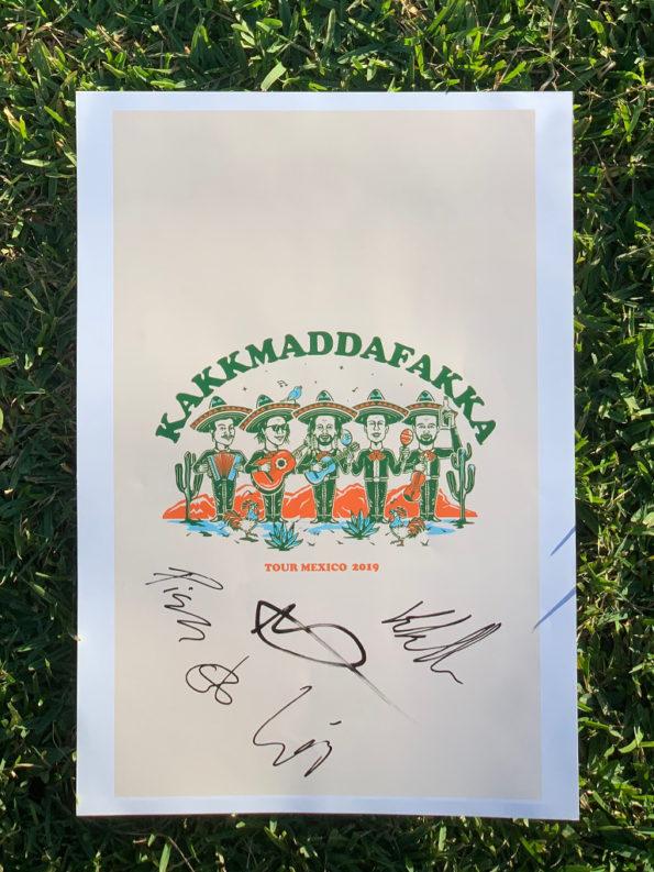 Mexico-2019-poster-kakkmaddafakka-signed