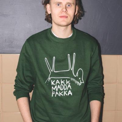 green-sweater-hest-kakkmaddafakka